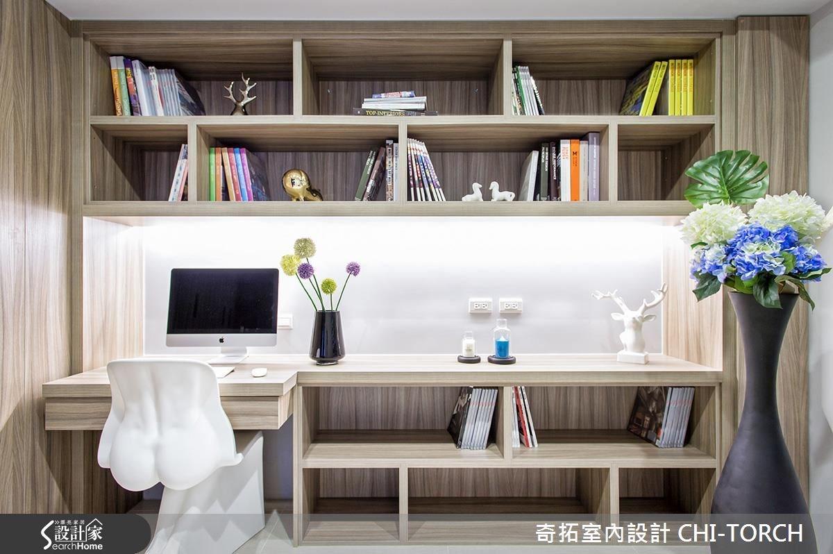 36坪新成屋(5年以下)_混搭風案例圖片_奇拓室內設計 CHI-TORCH_奇拓_02之10