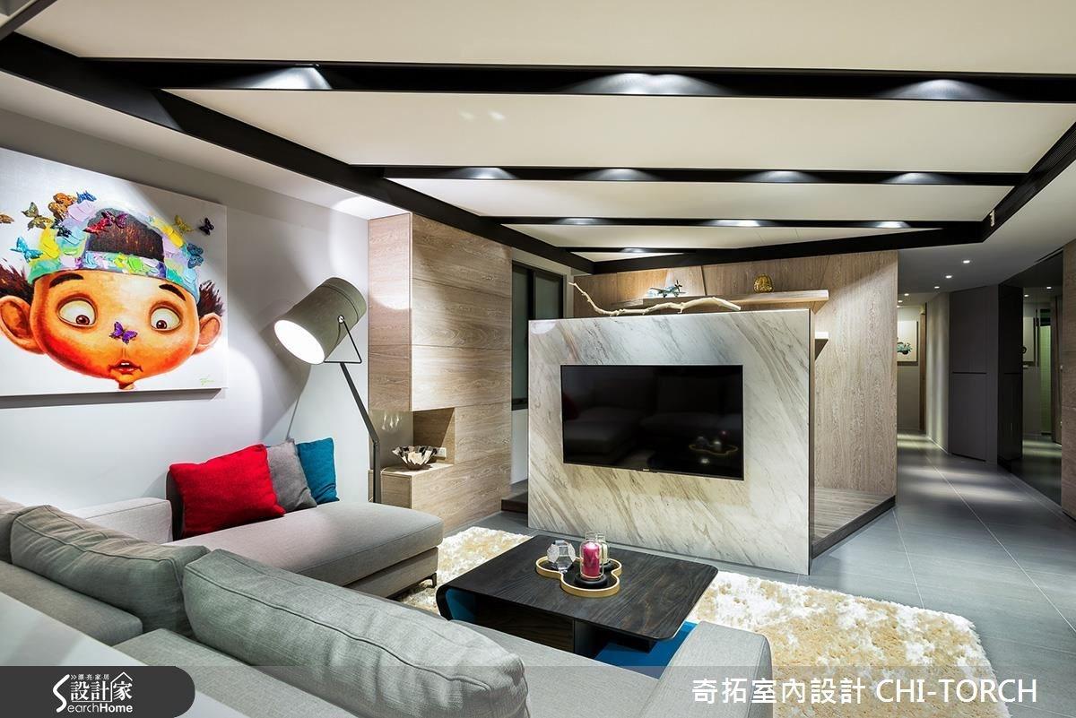 40坪老屋(16~30年)_現代風案例圖片_奇拓室內設計 CHI-TORCH_奇拓_03之4