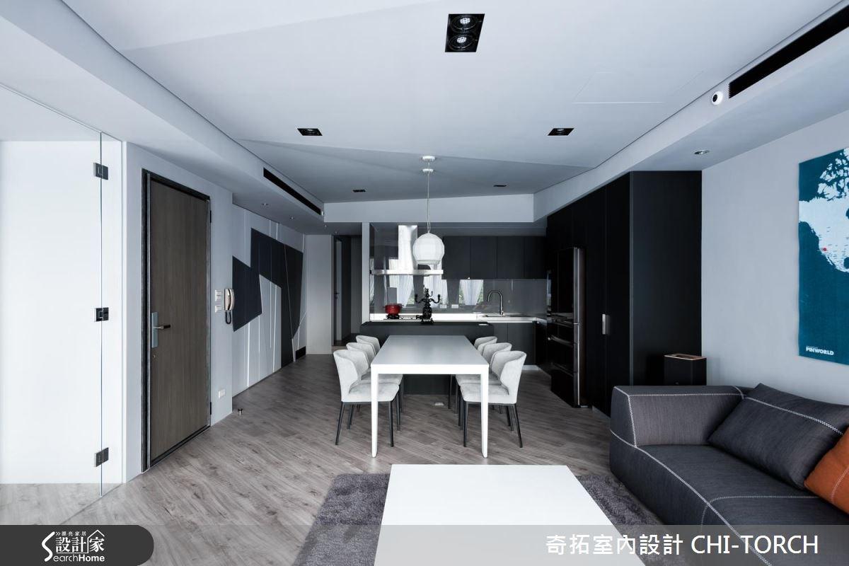 40坪老屋(16~30年)_現代風案例圖片_奇拓室內設計 CHI-TORCH_奇拓_06之3