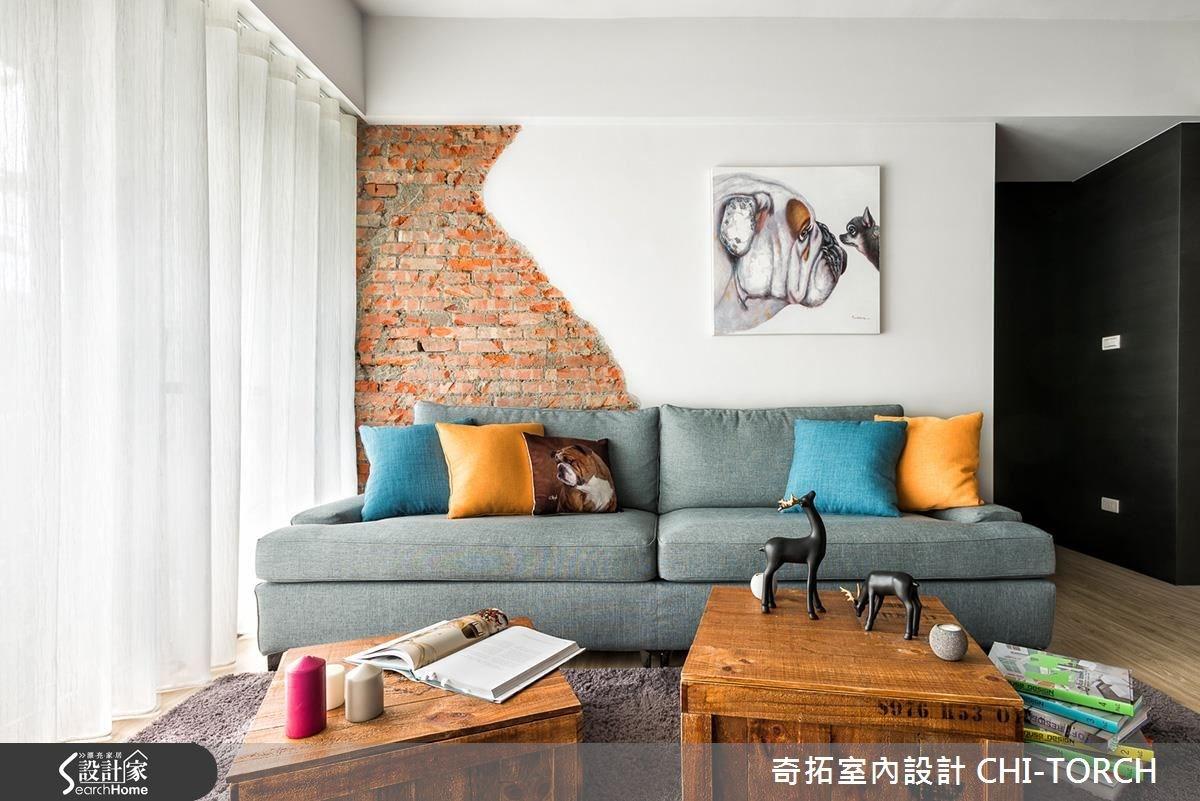 25坪老屋(16~30年)_工業風案例圖片_奇拓室內設計 CHI-TORCH_奇拓_04之3