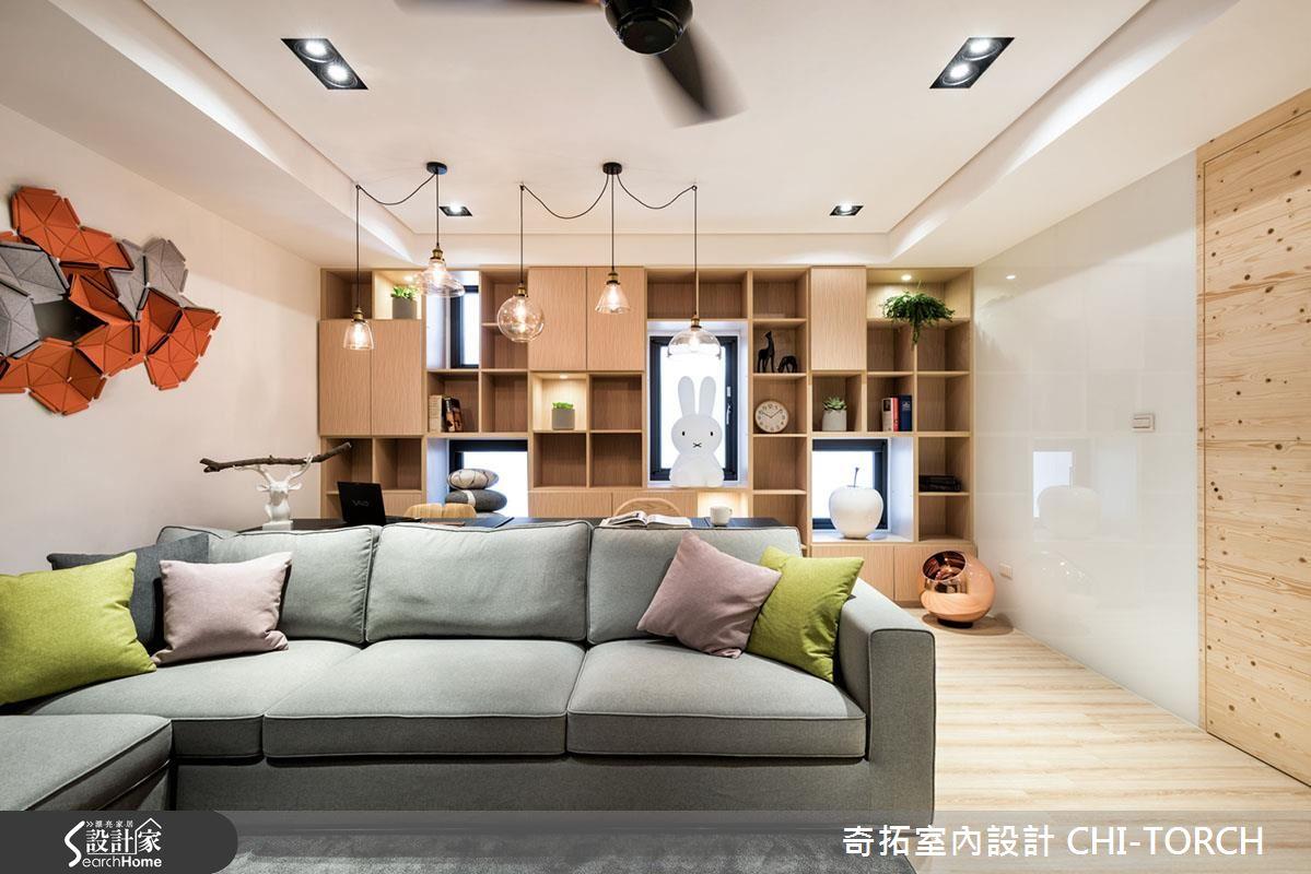 家就是幸福的總和! 打造新婚夫妻的 26 坪無印現代宅