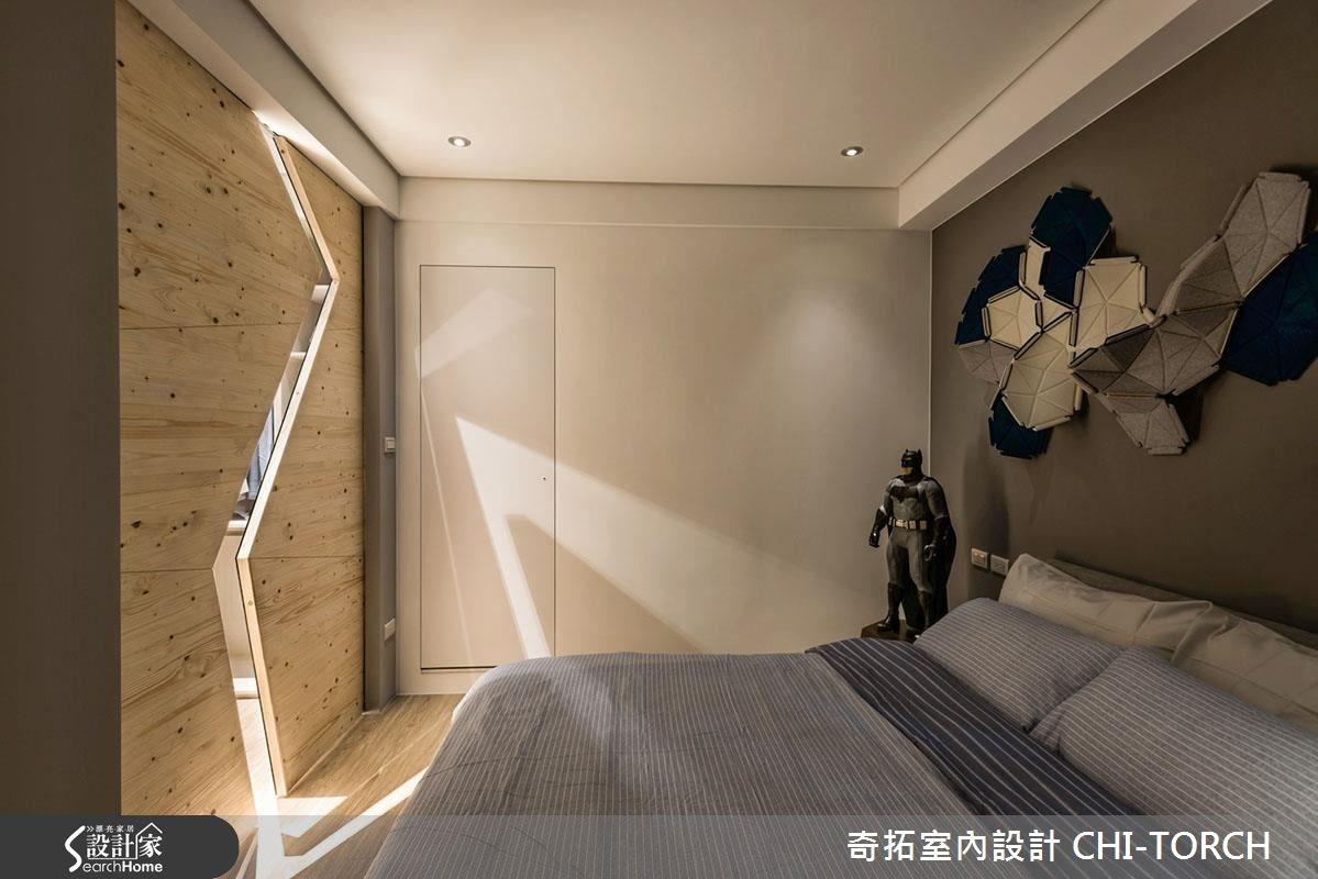 26坪老屋(16~30年)_現代風臥室案例圖片_奇拓室內設計 CHI-TORCH_奇拓_08之5