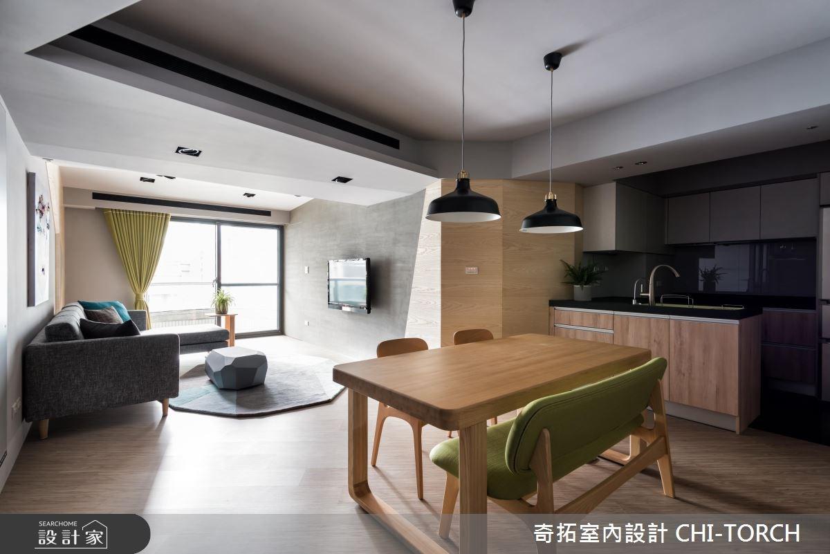 30坪老屋(16~30年)_現代風餐廳案例圖片_奇拓室內設計 CHI-TORCH_奇拓_15之4