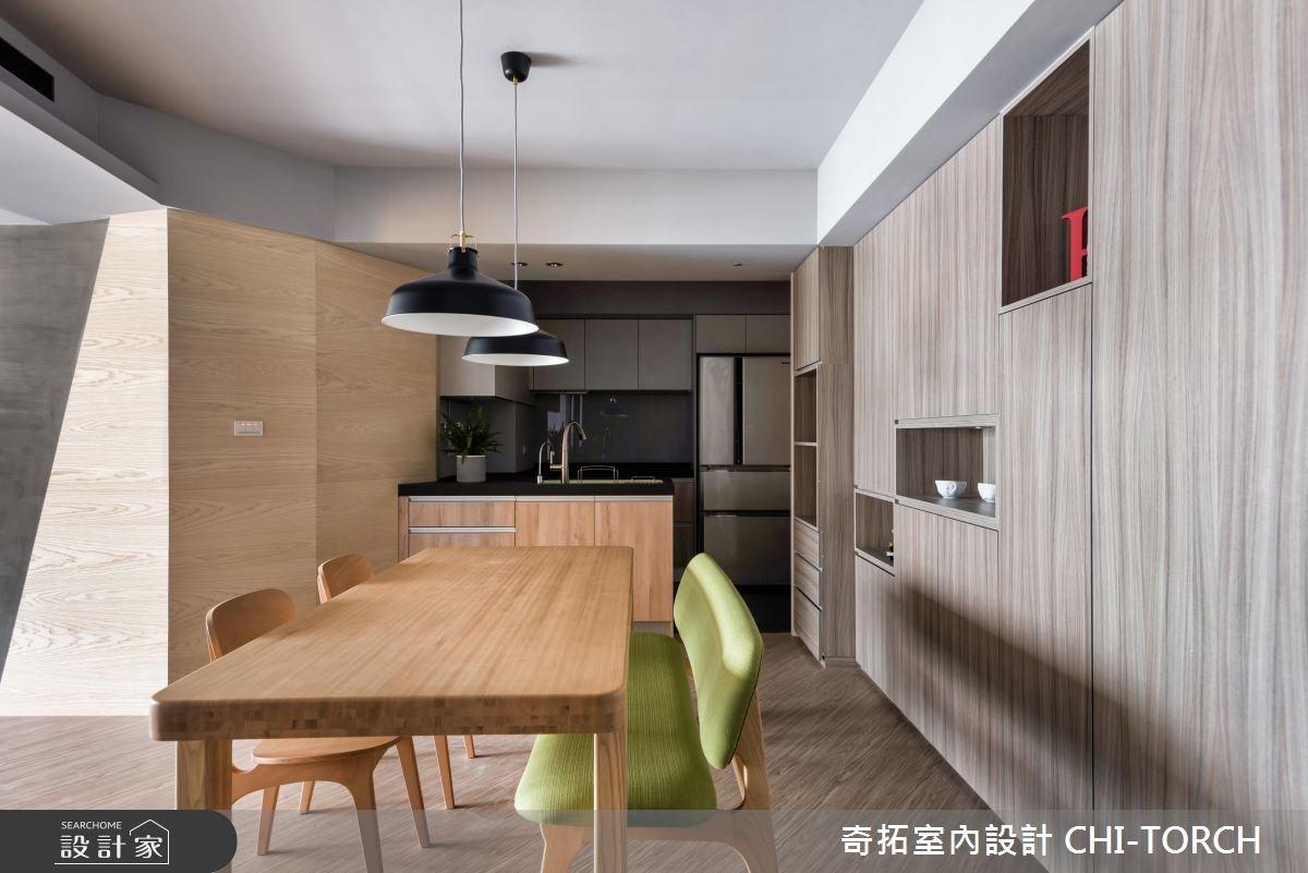 30坪老屋(16~30年)_現代風餐廳案例圖片_奇拓室內設計 CHI-TORCH_奇拓_15之5