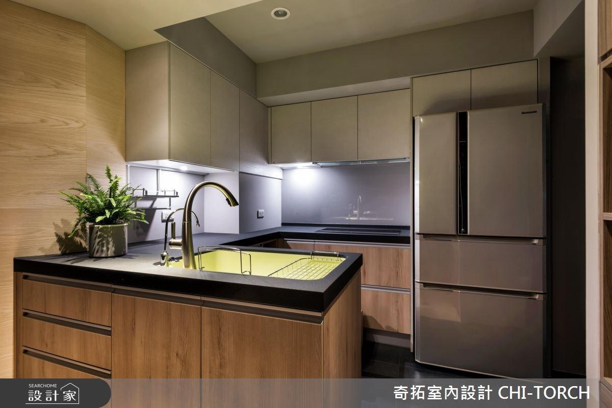 30坪老屋(16~30年)_現代風廚房案例圖片_奇拓室內設計 CHI-TORCH_奇拓_15之6