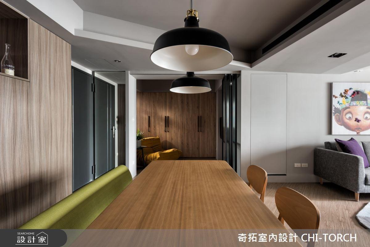 30坪老屋(16~30年)_現代風餐廳案例圖片_奇拓室內設計 CHI-TORCH_奇拓_15之7