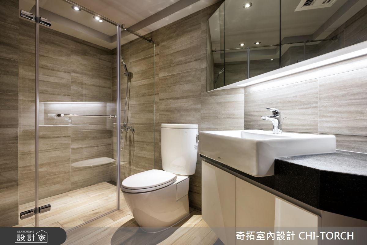30坪老屋(16~30年)_現代風浴室案例圖片_奇拓室內設計 CHI-TORCH_奇拓_15之12
