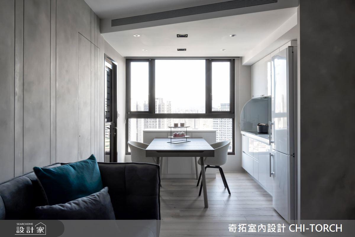 17坪新成屋(5年以下)_現代風客廳餐廳案例圖片_奇拓室內設計 CHI-TORCH_奇拓_22之4