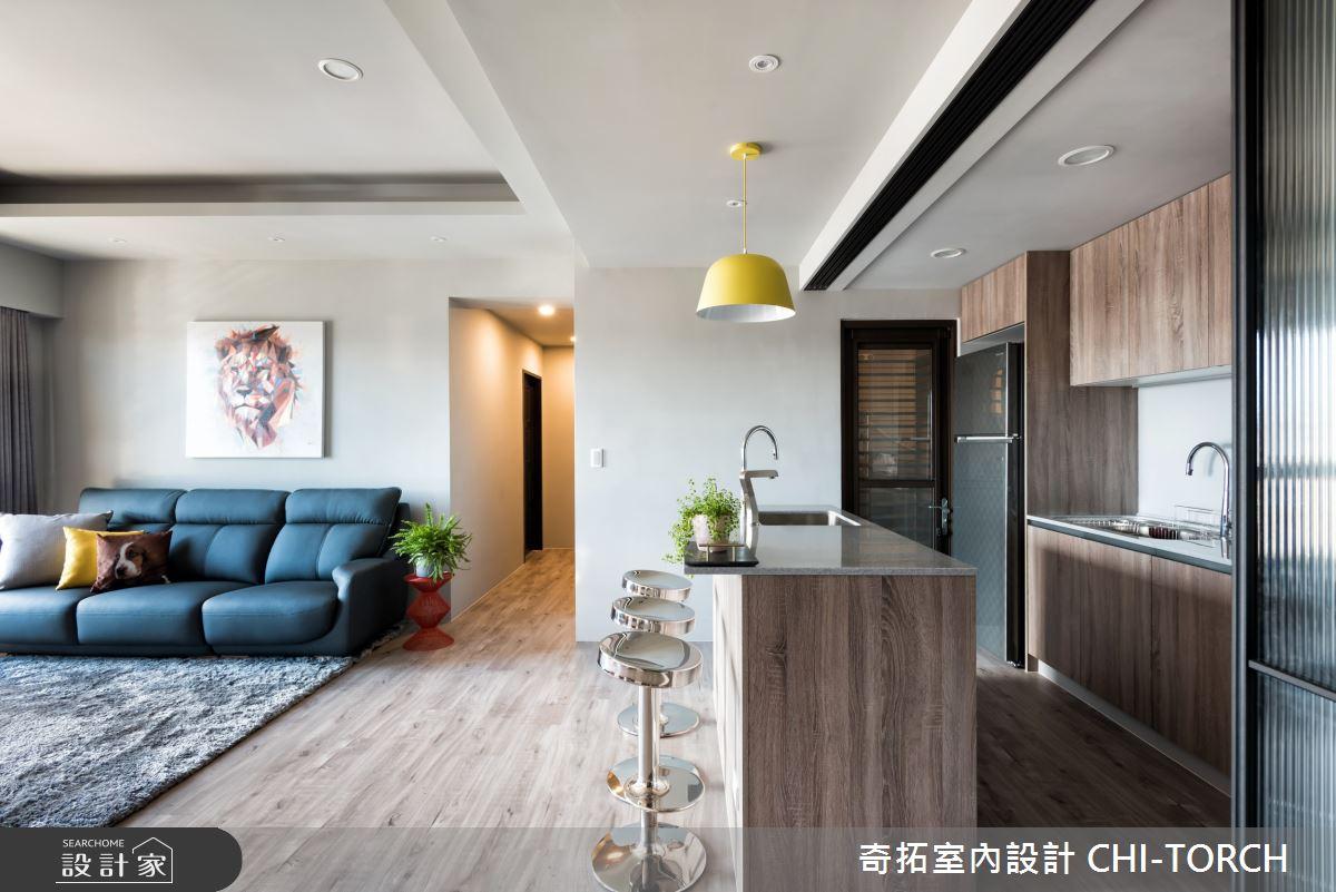 38坪中古屋(5~15年)_現代風餐廳案例圖片_奇拓室內設計 CHI-TORCH_奇拓_24之4