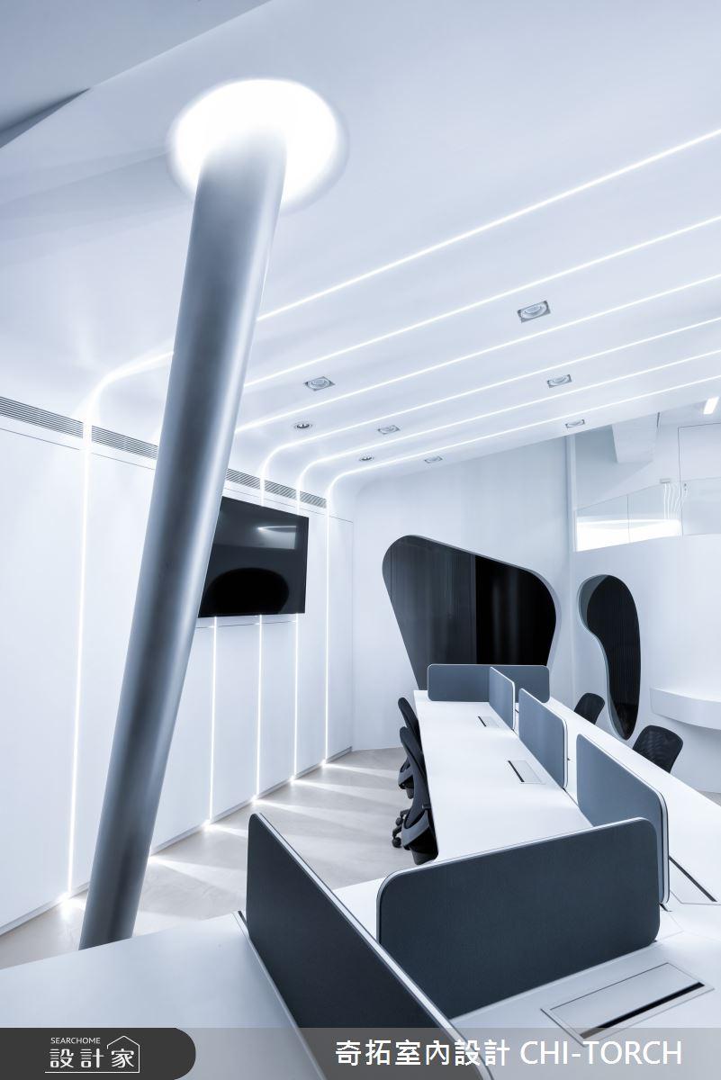 28坪新成屋(5年以下)_未來科技風商業空間案例圖片_奇拓室內設計 CHI-TORCH_奇拓_25之3