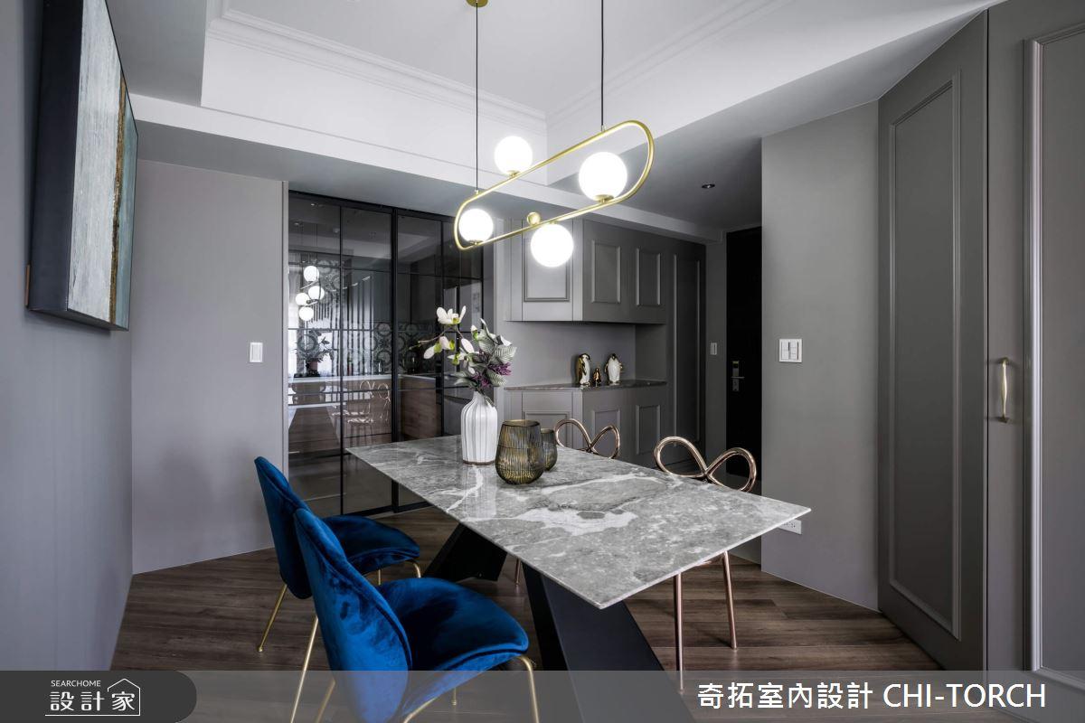 30坪預售屋_美式風餐廳案例圖片_奇拓室內設計 CHI-TORCH_奇拓_27之4