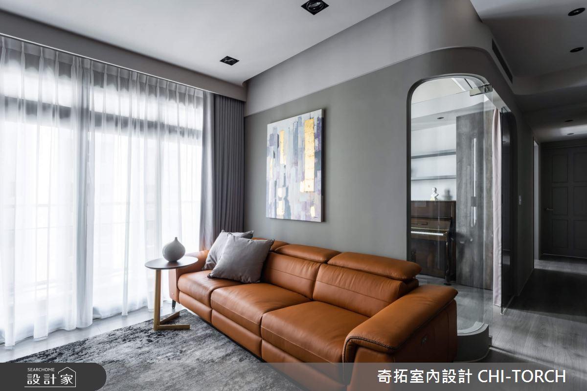 26坪新成屋(5年以下)_現代風客廳案例圖片_奇拓室內設計 CHI-TORCH_奇拓_30之3