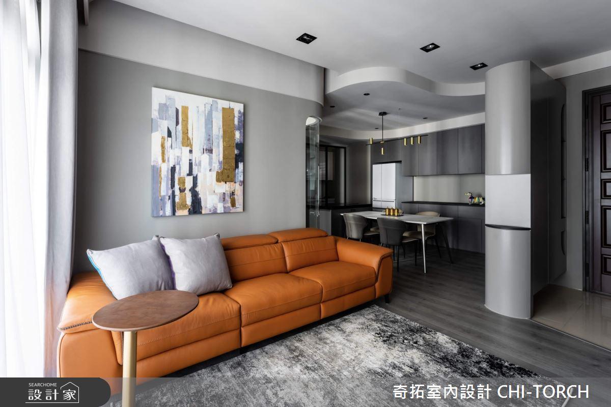 26坪新成屋(5年以下)_現代風客廳案例圖片_奇拓室內設計 CHI-TORCH_奇拓_30之2