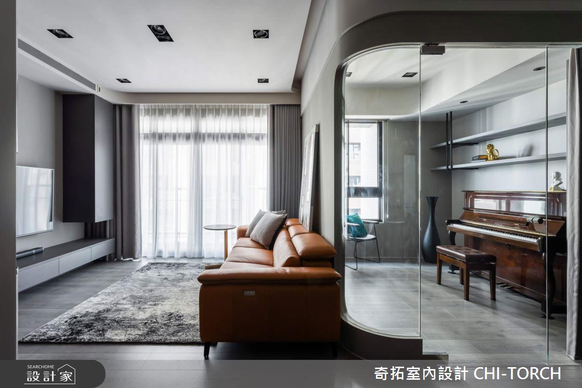 26坪新成屋(5年以下)_現代風客廳案例圖片_奇拓室內設計 CHI-TORCH_奇拓_30之4