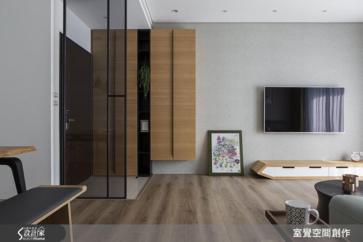 25坪新成屋(5年以下)_北歐風客廳案例圖片_室覺空間創作_室覺_09之2
