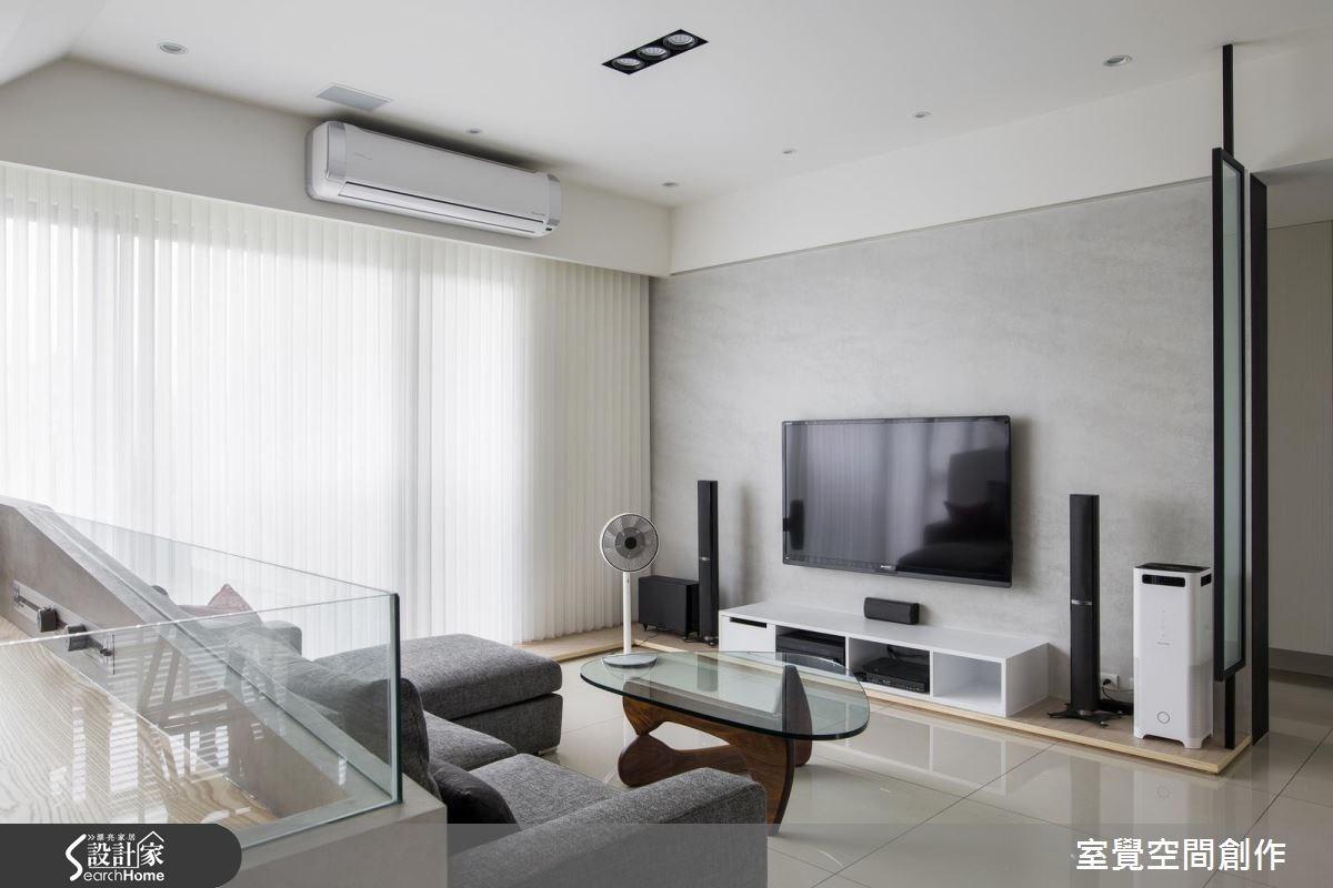 30坪新成屋(5年以下)_現代風客廳案例圖片_室覺空間創作_室覺_11之1