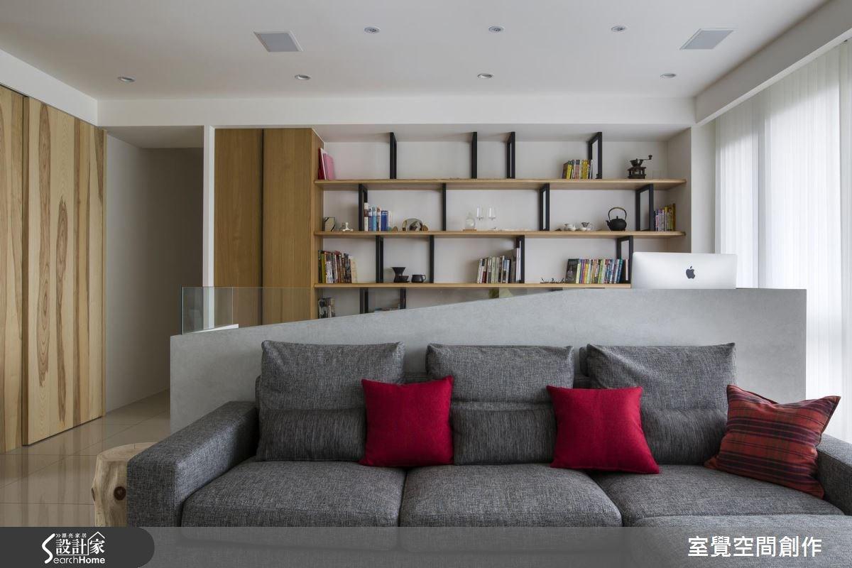 30坪新成屋(5年以下)_現代風客廳案例圖片_室覺空間創作_室覺_11之4