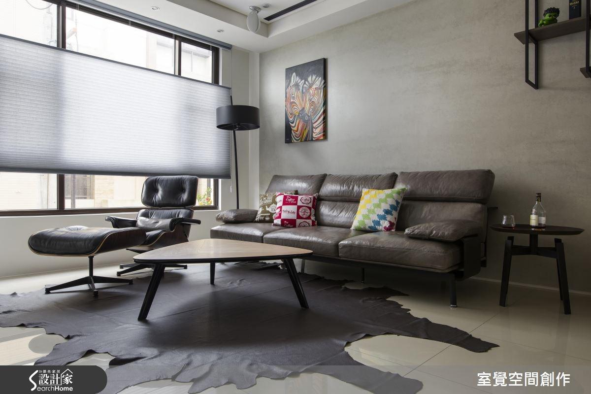 30坪新成屋(5年以下)_現代風客廳案例圖片_室覺空間創作_室覺_12之2