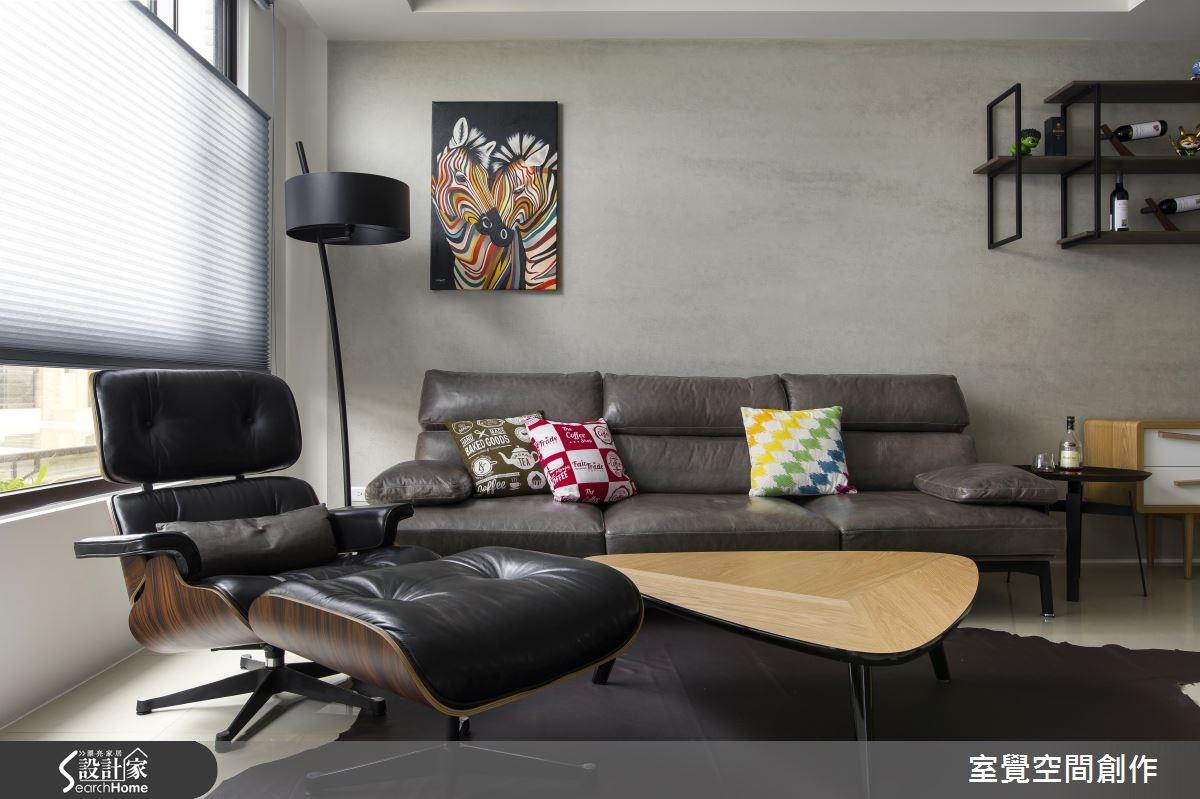30坪新成屋(5年以下)_現代風客廳案例圖片_室覺空間創作_室覺_12之3