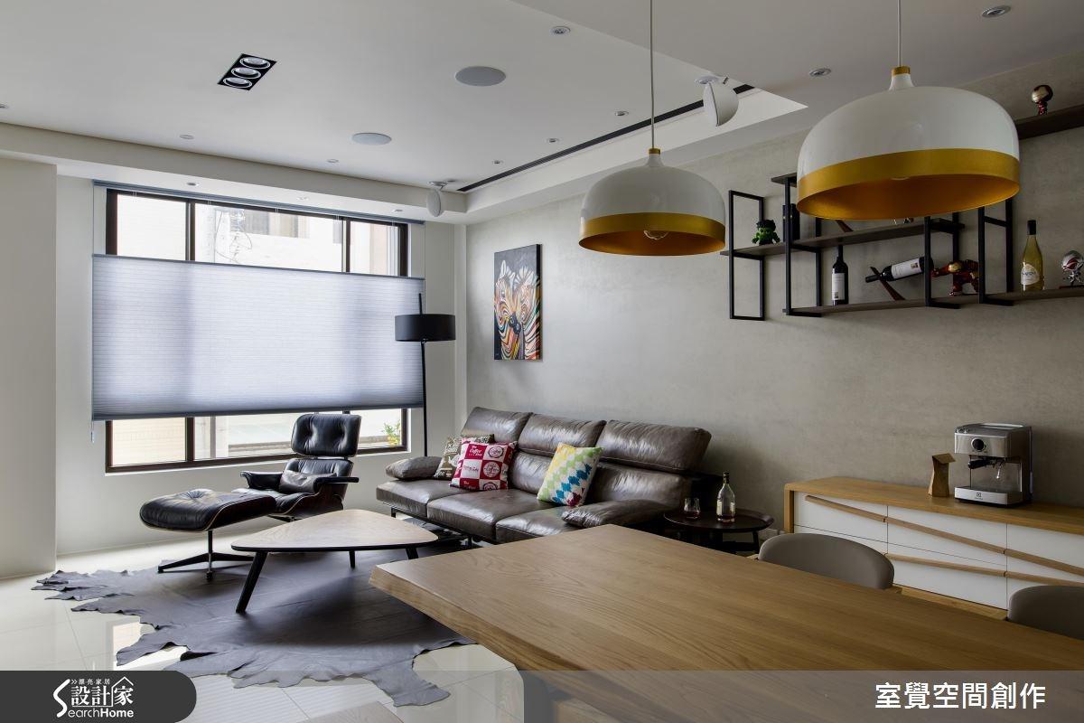 30坪新成屋(5年以下)_現代風客廳案例圖片_室覺空間創作_室覺_12之4