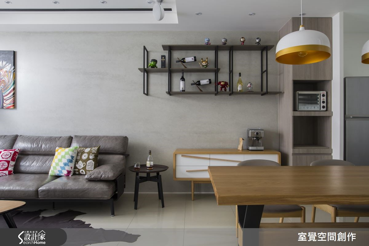 30坪新成屋(5年以下)_現代風客廳案例圖片_室覺空間創作_室覺_12之5