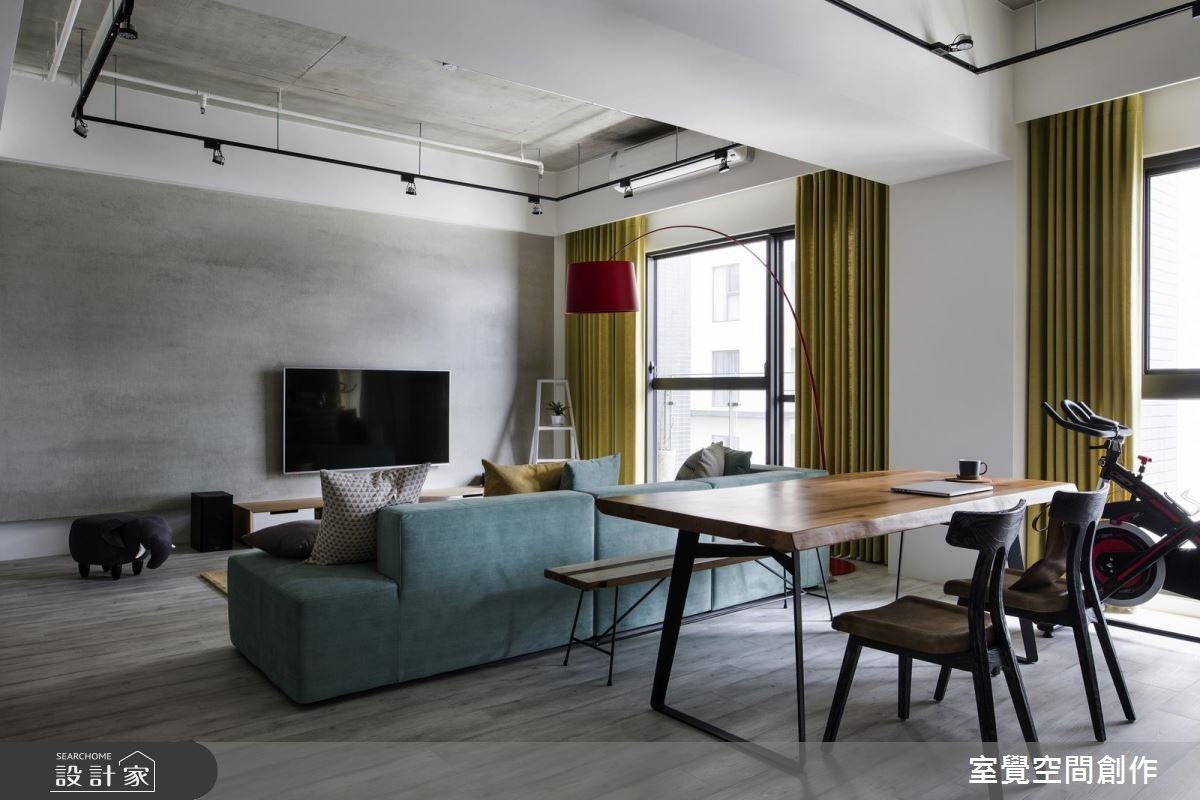 25坪新成屋(5年以下)_混搭風工作區案例圖片_室覺空間創作_室覺_13之4