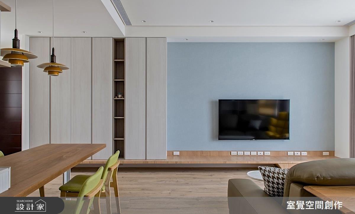 20坪新成屋(5年以下)_北歐風客廳案例圖片_室覺空間創作_室覺_17之4