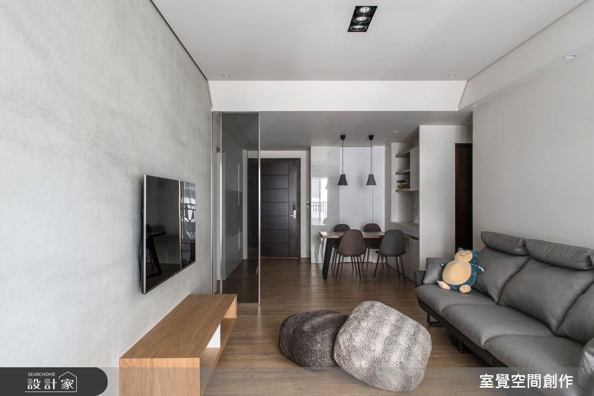 17坪新成屋(5年以下)_簡約風客廳案例圖片_室覺空間創作_室覺_19之7