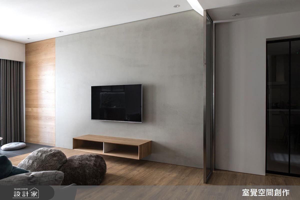 17坪新成屋(5年以下)_簡約風客廳案例圖片_室覺空間創作_室覺_19之11