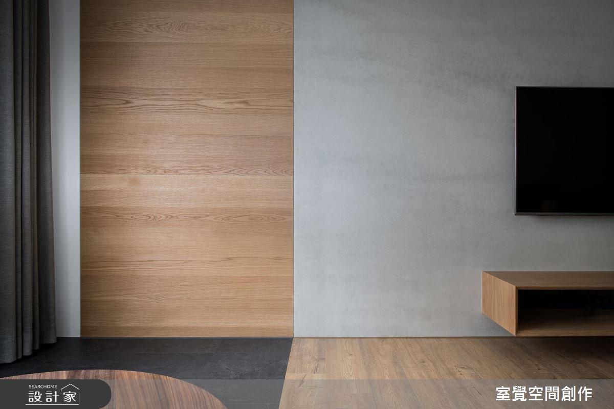 17坪新成屋(5年以下)_簡約風客廳案例圖片_室覺空間創作_室覺_19之12