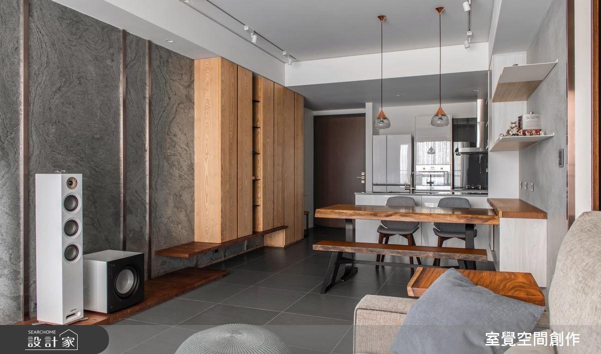 17坪新成屋(5年以下)_現代風餐廳案例圖片_室覺空間創作_室覺_21之4