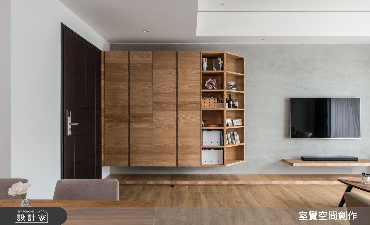 18坪新成屋(5年以下)_現代風玄關案例圖片_室覺空間創作_室覺_22之2