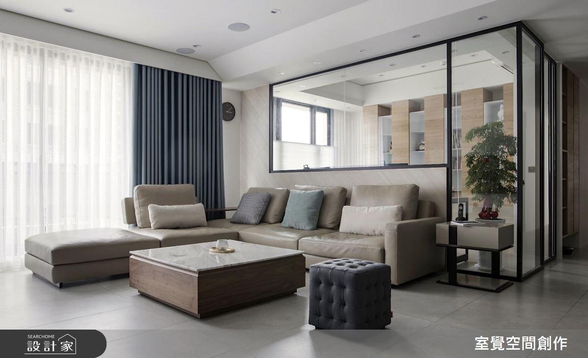 28坪新成屋(5年以下)_現代風客廳案例圖片_室覺空間創作_室覺_23之2