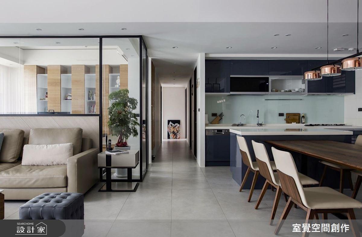 28坪新成屋(5年以下)_現代風走廊案例圖片_室覺空間創作_室覺_23之3
