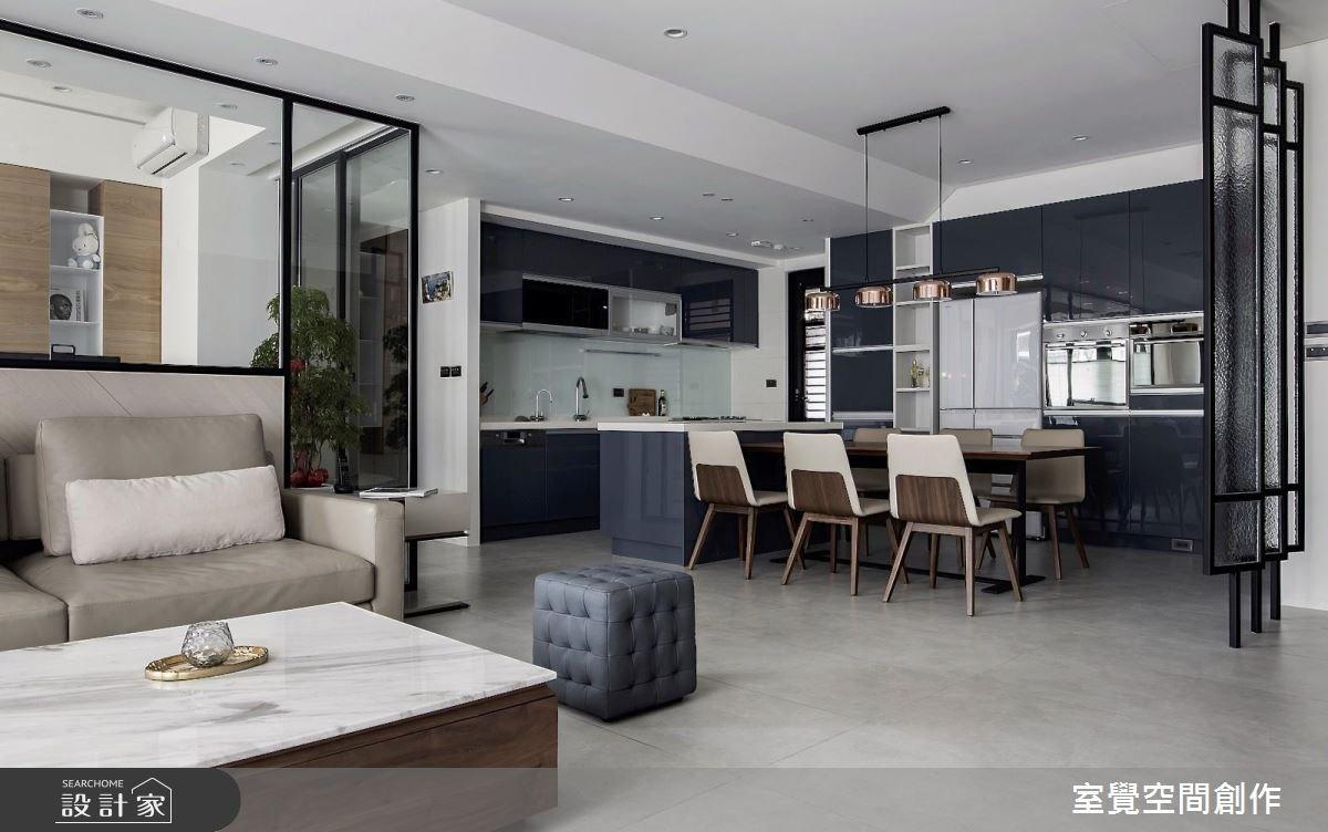 28坪新成屋(5年以下)_現代風餐廳案例圖片_室覺空間創作_室覺_23之4