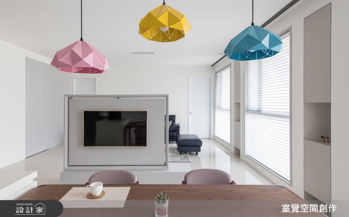 40坪新成屋(5年以下)_現代風餐廳案例圖片_室覺空間創作_室覺_24之3