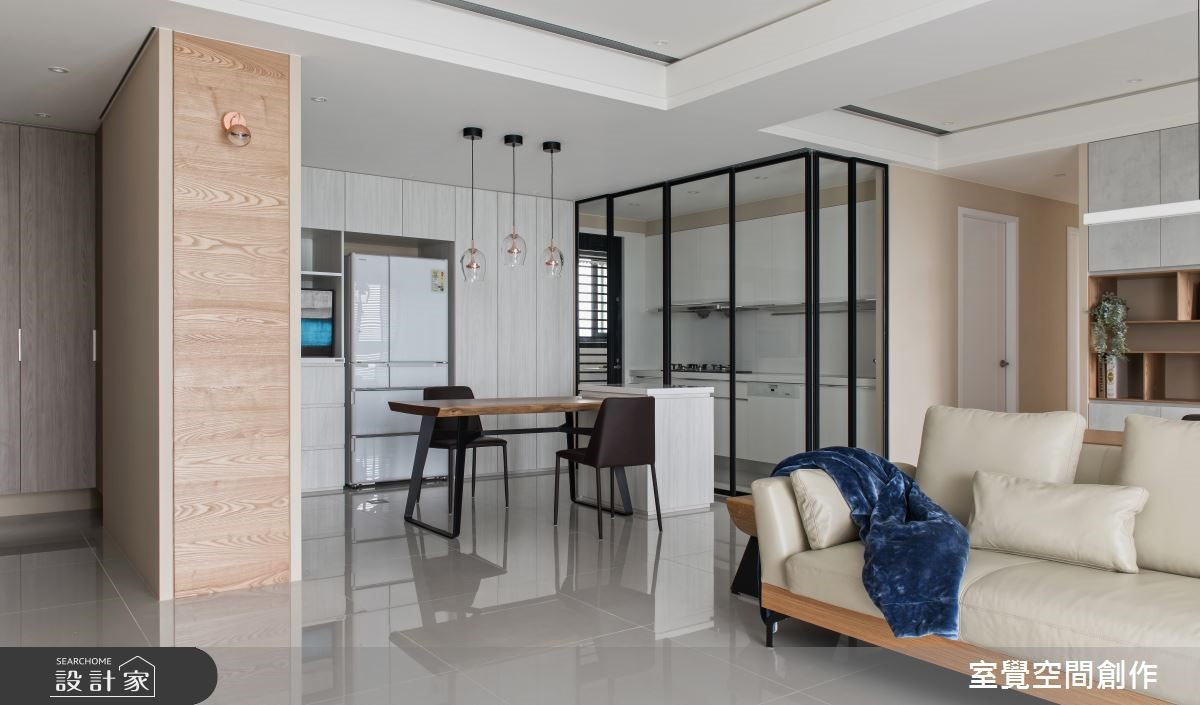 40坪新成屋(5年以下)_現代風餐廳案例圖片_室覺空間創作_室覺_25之3