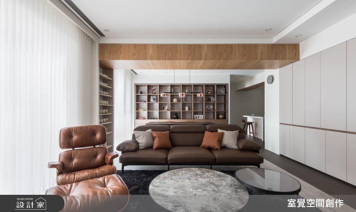35坪新成屋(5年以下)_現代風客廳案例圖片_室覺空間創作_室覺_26之4