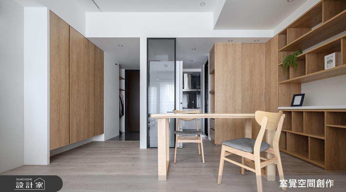15坪新成屋(5年以下)_簡約風餐廳案例圖片_室覺空間創作_室覺_27之2