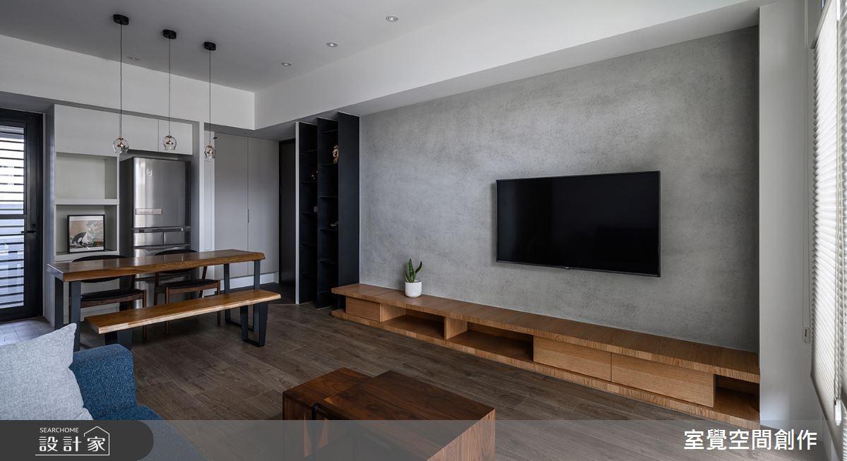 15坪新成屋(5年以下)_現代風客廳餐廳案例圖片_室覺空間創作_室覺_28之3