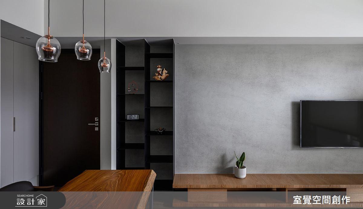 15坪新成屋(5年以下)_現代風客廳餐廳案例圖片_室覺空間創作_室覺_28之2