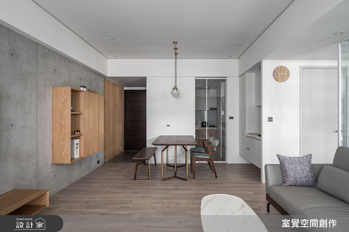 25坪新成屋(5年以下)_日式無印風餐廳案例圖片_室覺空間創作_室覺_36之4