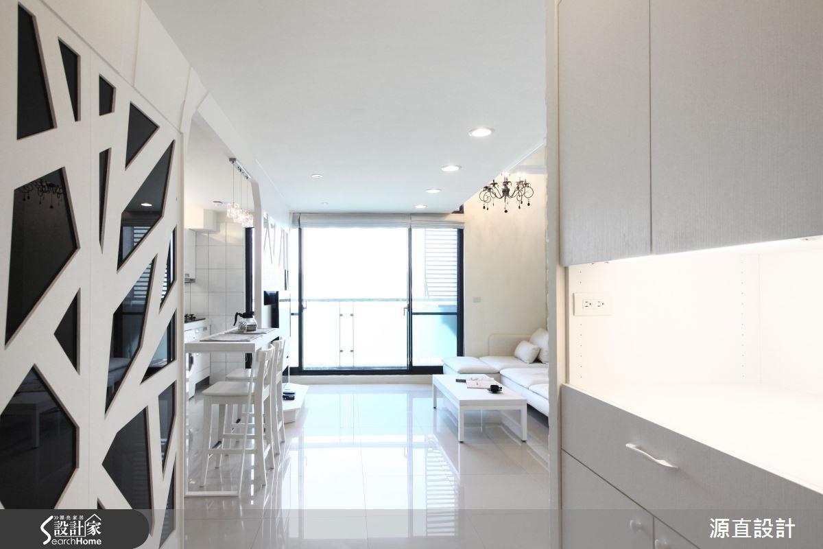18坪新成屋(5年以下)_現代風吧檯案例圖片_源直聯合設計事務所_源直_05之2
