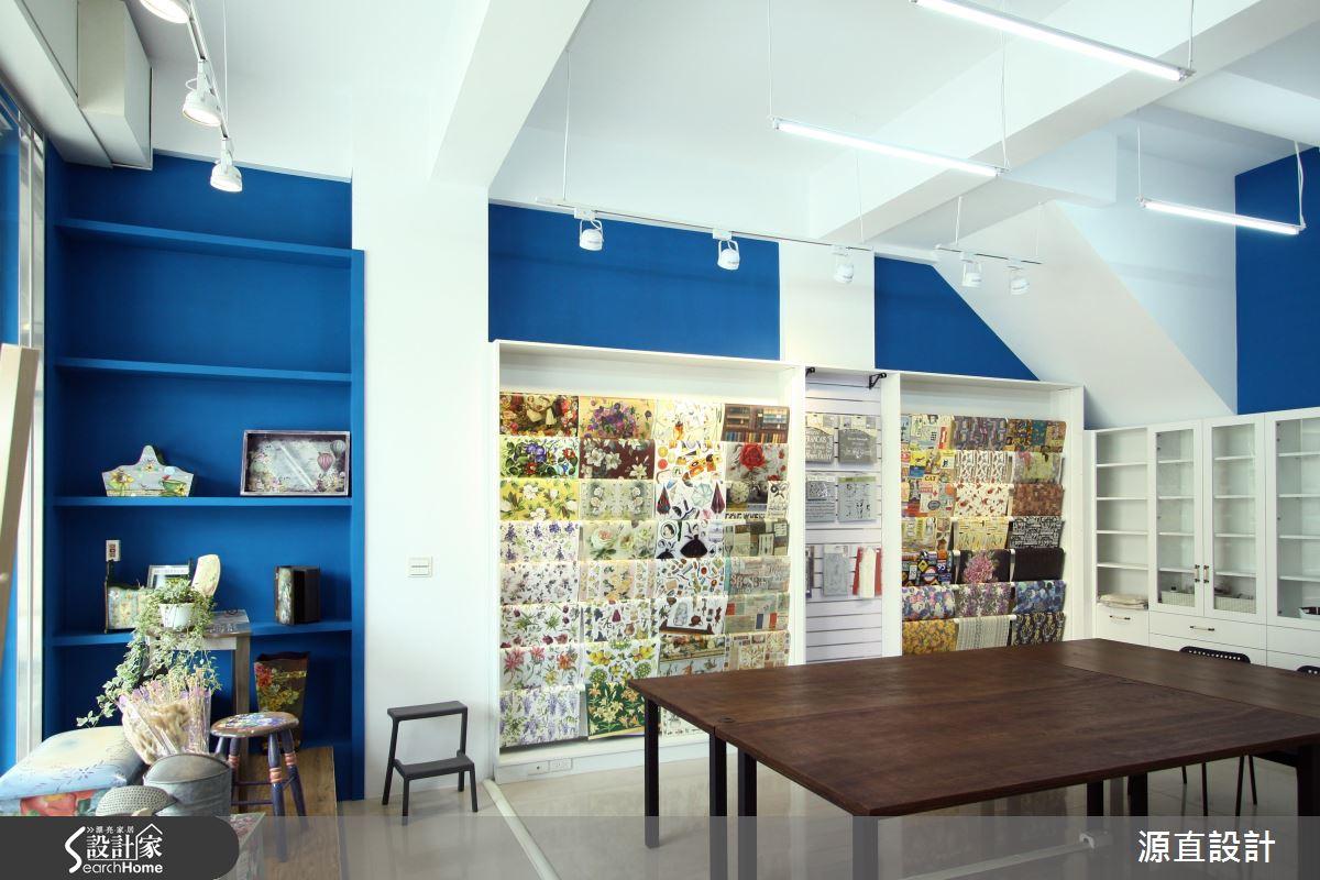 走進一抹清爽的地中海風工作坊 宛如置身希臘街邊小店!