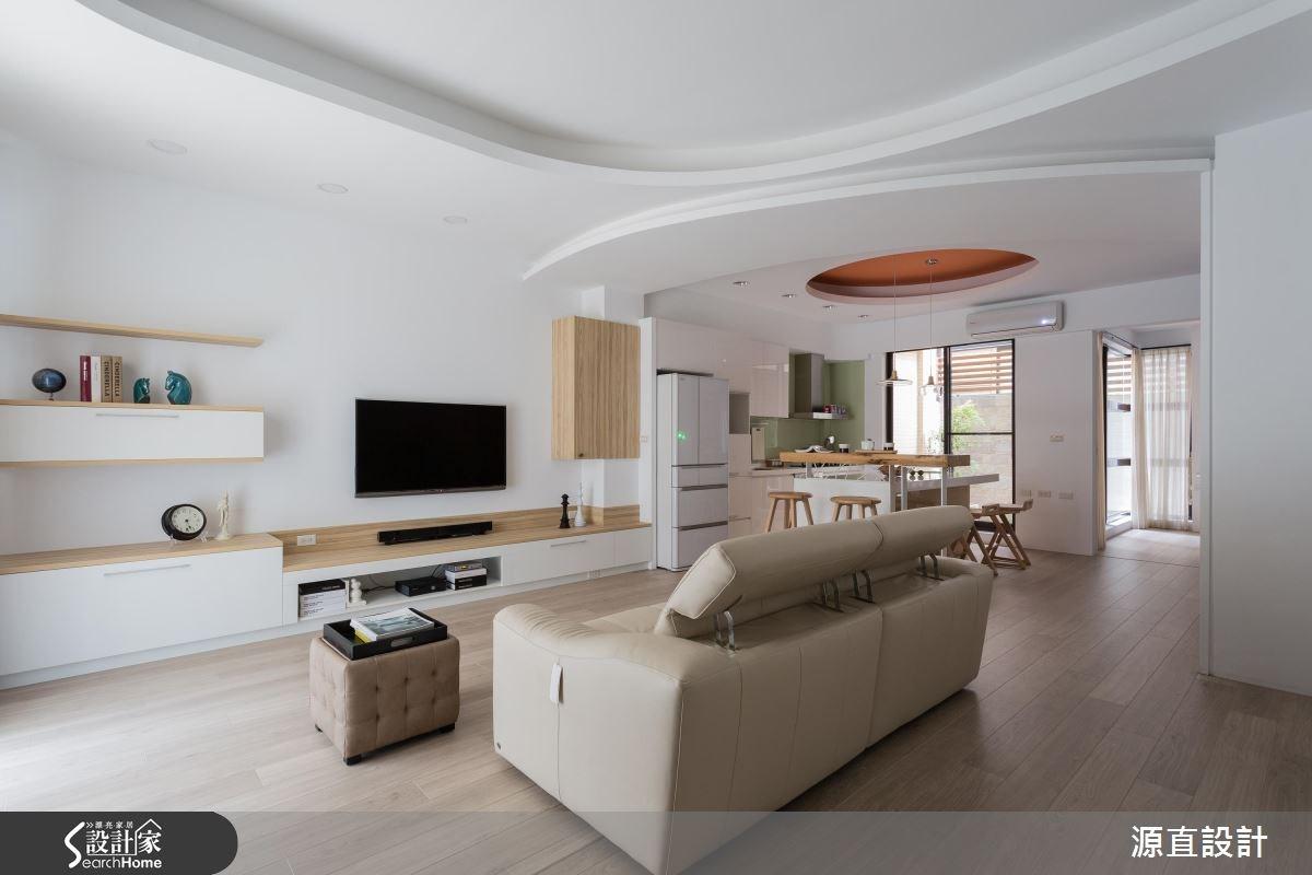 100坪新成屋(5年以下)_北歐風客廳案例圖片_源直聯合設計事務所_源直_07之1