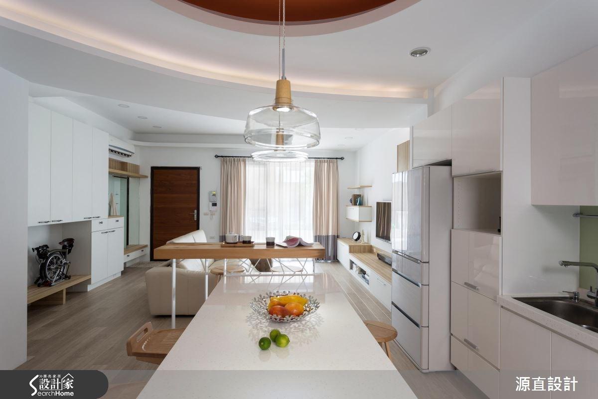 100坪新成屋(5年以下)_北歐風餐廳案例圖片_源直聯合設計事務所_源直_07之6
