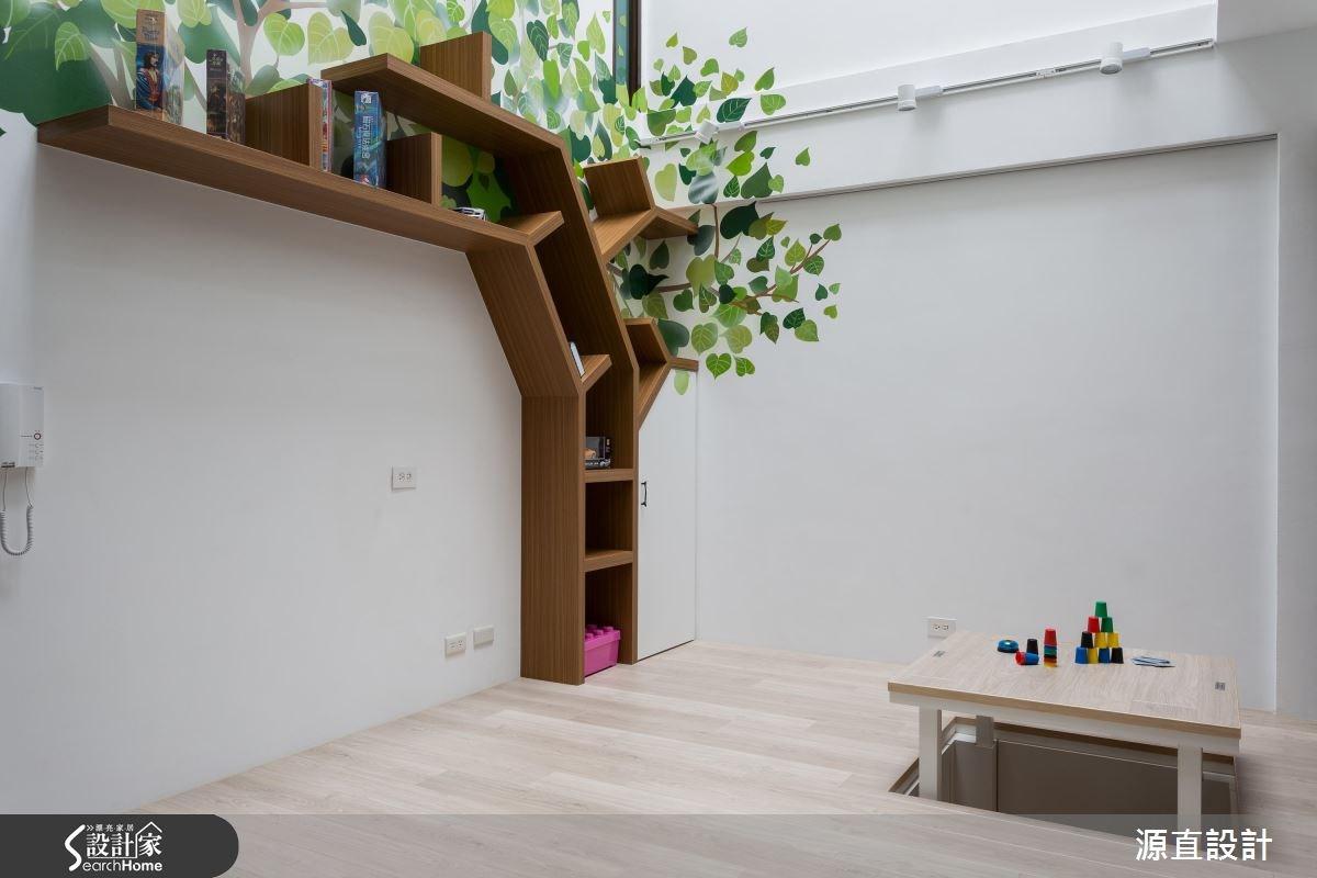 100坪新成屋(5年以下)_北歐風和室案例圖片_源直聯合設計事務所_源直_07之11