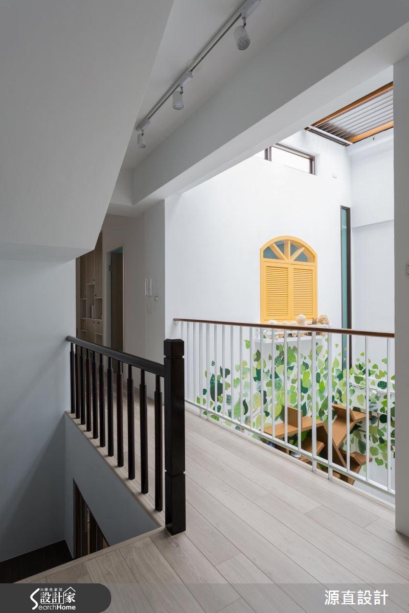 100坪新成屋(5年以下)_北歐風走廊案例圖片_源直聯合設計事務所_源直_07之16