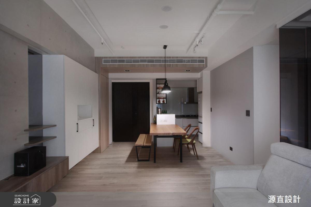 43坪新成屋(5年以下)_現代風餐廳案例圖片_源直聯合設計事務所_源直_09之6