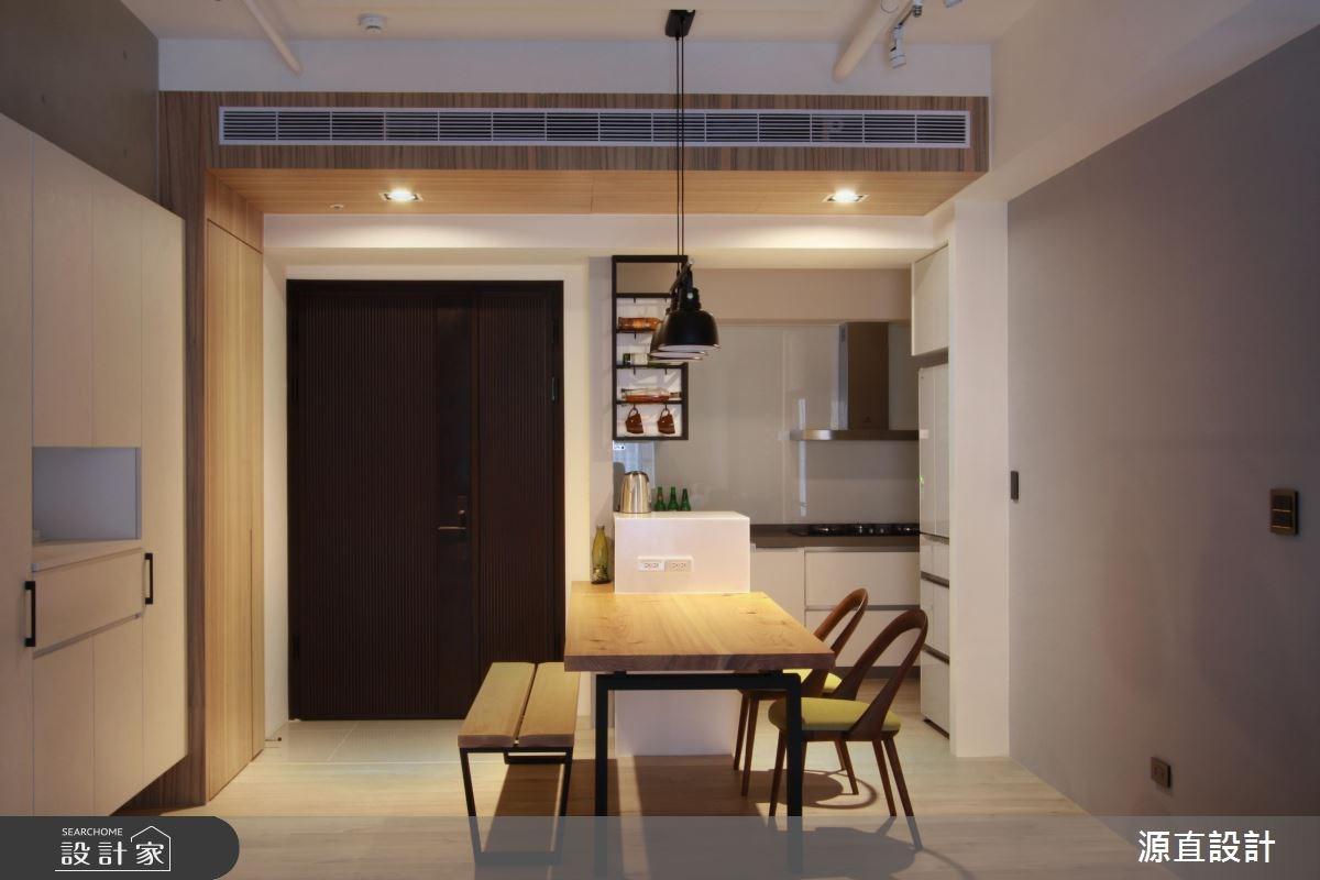 43坪新成屋(5年以下)_現代風玄關餐廳案例圖片_源直聯合設計事務所_源直_09之7